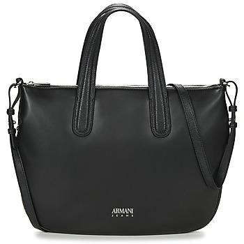 Väskor Dam Handväskor med kort rem Armani jeans DILAF Svart