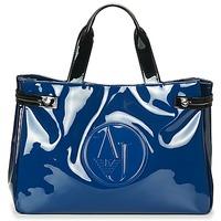 Väskor Dam Handväskor med kort rem Armani jeans TAUTAL Blå