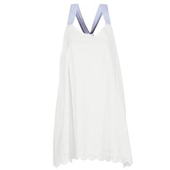 textil Dam Korta klänningar Betty London GRAMA Benvit