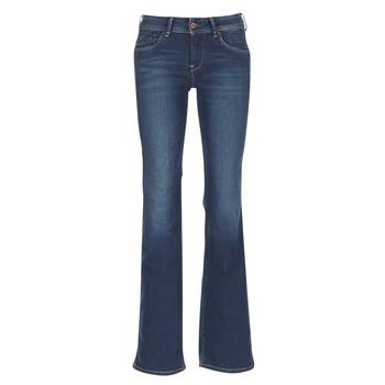 textil Dam Bootcutjeans Pepe jeans PIMLICO CA0 / Blå