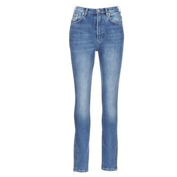 textil Dam Stuprörsjeans Pepe jeans GLADIS Blå / Ljus