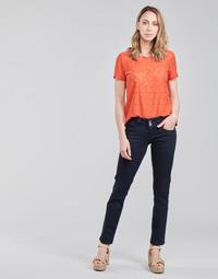 textil Dam Raka byxor Pepe jeans GEN Blå / M15