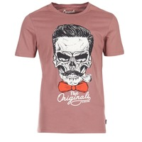 textil Herr T-shirts Jack & Jones CRIPTIC ORIGINALS Rosa