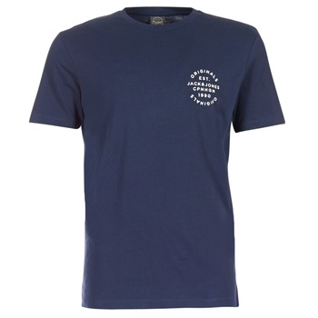 textil Herr T-shirts Jack & Jones ORGANIC ORIGINALS Marin