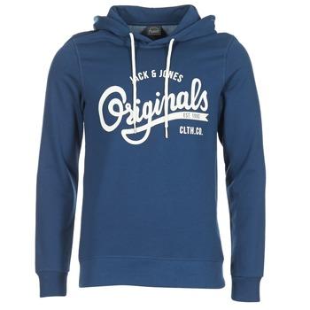 textil Herr Sweatshirts Jack & Jones HAWL ORIGINALS Blå