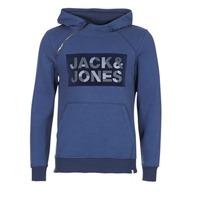 textil Herr Sweatshirts Jack & Jones KALVO CORE Blå