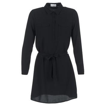 textil Dam Korta klänningar Casual Attitude HONIRE Svart
