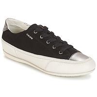 Skor Dam Sneakers Geox D N.MOENA D - SCAM.STA+VIT.CER Svart