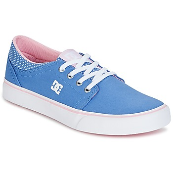 Skor Flickor Sneakers DC Shoes TRASE TX SE Blå / Vit