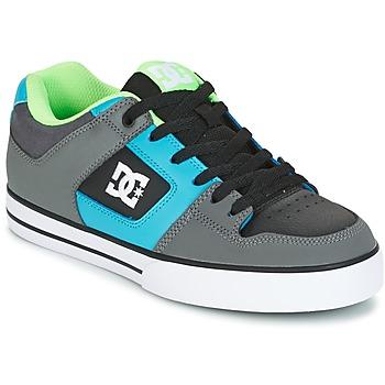 Skor Herr Skateskor DC Shoes PURE Grå / Grön / Blå