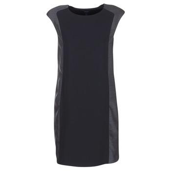 textil Dam Korta klänningar Armani jeans LAMIC Svart / Grå