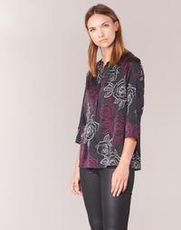 textil Dam Blusar Armani jeans DRENIZ Svart