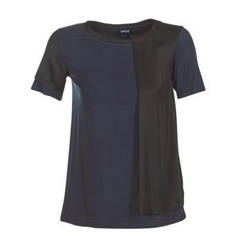 textil Dam T-shirts Armani jeans DRANIZ Marin / Svart