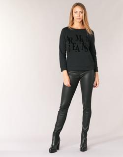 textil Dam Skinny Jeans Armani jeans BABEZ Svart