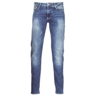 textil Herr Stuprörsjeans Armani jeans LORETTE Blå
