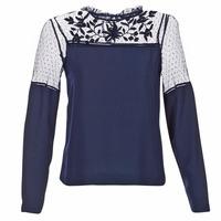 textil Dam Blusar Vero Moda JOSEFINE Marin