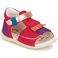 Skor Flick Sandaler Kickers BIHILANA FUCHSIA / Orange / Violett