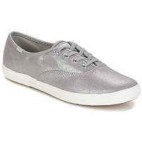Skor Dam Sneakers Keds CH METALLIC CANVAS Silver