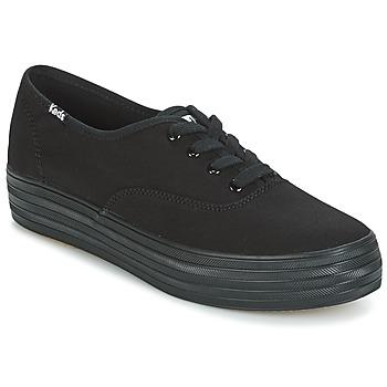 Skor Dam Sneakers Keds TRIPLE Svart