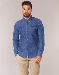textil Herr Långärmade skjortor Casual Attitude IHERZI Blå