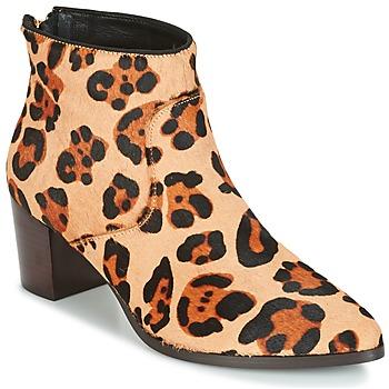 Skor Dam Stövletter Bocage MELODY Leopard