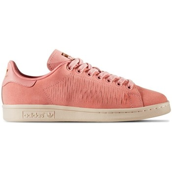 Skor Dam Sneakers adidas Originals Stan Smith Beige,Rosa