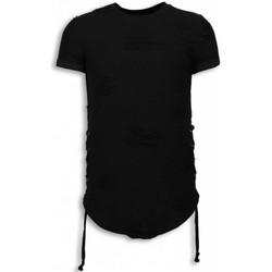 textil Herr T-shirts Justing  Svart