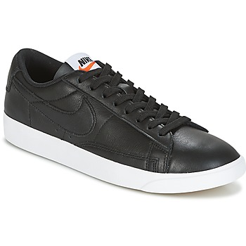 Skor Dam Sneakers Nike BLAZER LOW LEATHER W Svart
