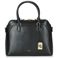 Väskor Dam Handväskor med kort rem Ralph Lauren NEWBURY NORA DOME Svart