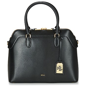 Väskor Dam Handväskor med kort rem Lauren Ralph Lauren NEWBURY NORA DOME Svart