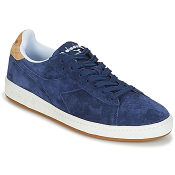 Skor Herr Sneakers Diadora GAME LOW SUEDE Blå
