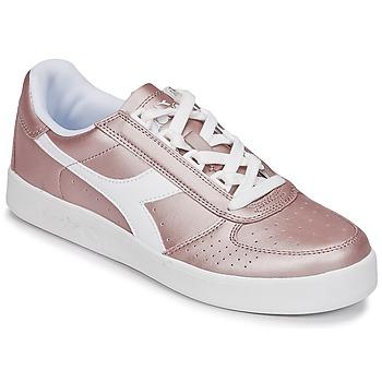 Skor Dam Sneakers Diadora B ELITE I METALLIC WN Brons