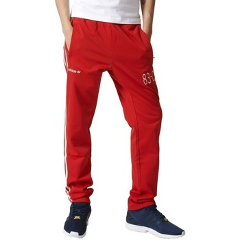 textil Herr Joggingbyxor adidas Originals 83C Trackpant Röda