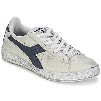Skor Sneakers Diadora GAME L LOW WAXED Vit / Blå