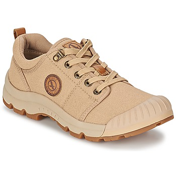 Skor Herr Sneakers Aigle TENERE LIGHT LOW CVS Sandfärgad