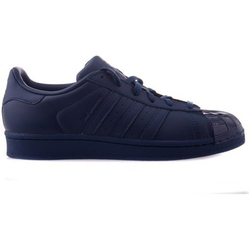 Skor Dam Sneakers adidas Originals Superstar Glossy Toe Grenade