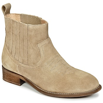 Skor Flick Boots Young Elegant People DEBBYM Beige