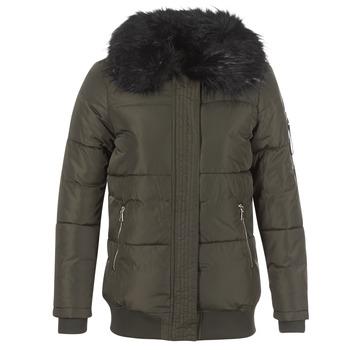 textil Dam Täckjackor Moony Mood HIPATI Kaki / Svart