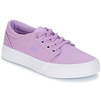 Skor Flickor Sneakers DC Shoes TRASE TX G SHOE 538 Violett