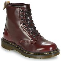 Skor Boots Dr Martens VEGAN 1460 Röd