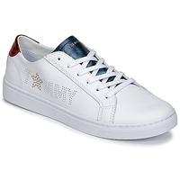 Skor Dam Sneakers Tommy Hilfiger VENUS 22 Vit / Blå / Röd