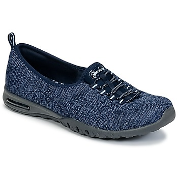 Skor Dam Sneakers Skechers EASY-AIR IN-MY-DREAMS Blå / Marin