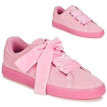 Skor Dam Sneakers Puma SUEDE HEART RESET WN'S Rosa