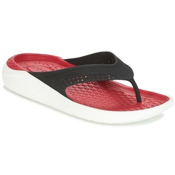 Skor Flip-flops Crocs LITERIDE FLIP Svart / Röd