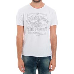 textil Herr T-shirts Fred Mello FMCLA99TG_BIANCO Blanco