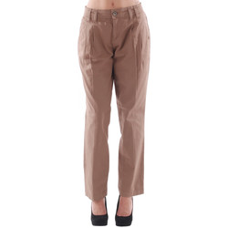 textil Dam Chinos / Carrot jeans Fornarina FOR08024 Marrón