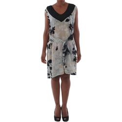 textil Dam Korta klänningar Fornarina ELISE_HIVORY Estampado