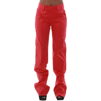 textil Dam Chinos / Carrot jeans Fornarina KIM_CORAL Coral