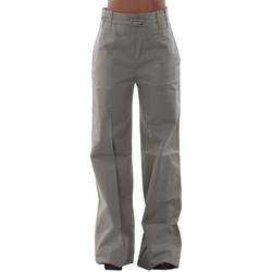 textil Dam Chinos / Carrot jeans Fornarina VELTEN_DUST Gris