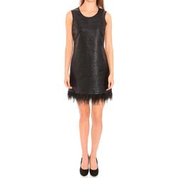 textil Dam Korta klänningar Liu Jo F65029T8222_22222 Negro